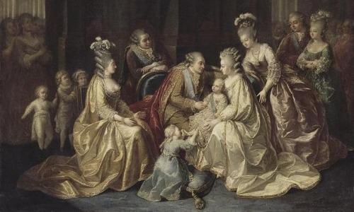 King Louis XVI and Marie Antoinette
